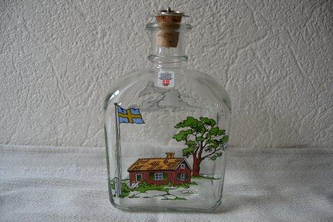 Fabriksnye Holmegårds dram flasker NM-65